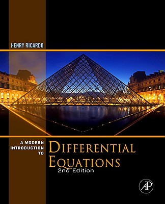 A Modern Introduction to Differential Equations By Ricardo, Henry J.